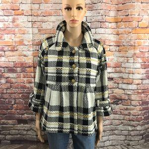 Dialogue Sweater Coat